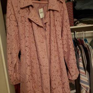 Old rose jacket